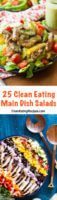 25 Clean Eating Main Dish Salad Recipes