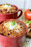Super-Quick Clean Eating 30 Minute Chili Recipe