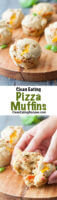 Clean Eating Pizza Muffin Recipe